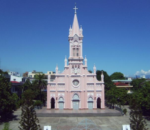 Nhà thờ Con Gà Đà Nẵng, công trình kiến trúc độc đáo