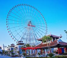 Asian Park - nơi không gian văn hóa châu Á hội tụ