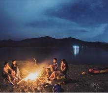 5 điểm cắm trại miễn phí đẹp lung linh ở Đà Nẵng