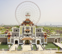 Asia Park – a leisure center characterizes Asian culture