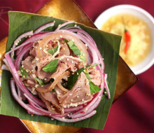 Cau Mong barbecued veal – a charming and exquisite dish of Quang area