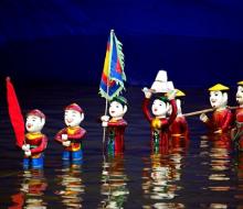 Múa rối nước Hội An – nghệ thuật truyền thống  đặc sắc