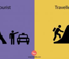 10 điểm khác biệt giữa khách du lịch và phượt thủ