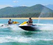 Đánh tan mùa hè oi bức bằng các môn thể thao biển cực hot ở Đà Nẵng