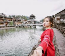 9X gây sốt khi du lịch Trung Quốc 10 ngày với 10 triệu đồng
