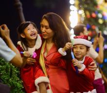 Sài Gòn nhộn nhịp đón mùa Noel đến sớm