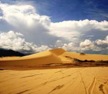 Không phải Mông Cổ, đây chính là đồi cát nằm tại Việt Nam hot nhất mùa hè này