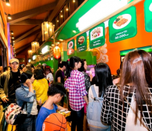 Khám phá không gian ẩm thực Ngũ Hành trong lễ hội pháo hoa quốc tế Đà Nẵng 2017