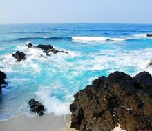 Cù Lao Xanh – bãi biển trong xanh như ngọc của Bình Định