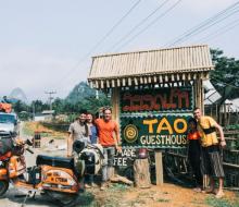 Chàng trai 33 tuổi vượt 40.000 km từ Italy đến Việt Nam