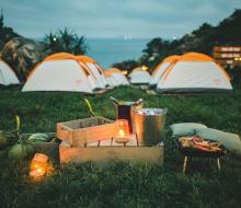 Dắt túi kinh nghiệm cắm trại tại Khu dã ngoại Trung Lương (Bình Định)