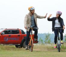 Xe đạp gấp - phương tiện hữu ích cho chuyến du lịch mùa hè