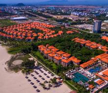 Cận cảnh khu resort 5 sao, nơi đặt trung tâm hội nghị phục vụ APEC
