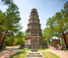 Exploring the oldest pagoda of Hue